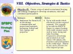 viii objectives strategies tactics34