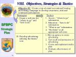 viii objectives strategies tactics35