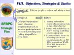 viii objectives strategies tactics38