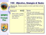 viii objectives strategies tactics42