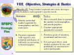 viii objectives strategies tactics45