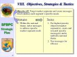 viii objectives strategies tactics46