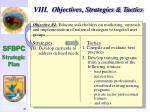 viii objectives strategies tactics50