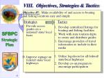 viii objectives strategies tactics56