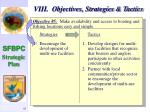 viii objectives strategies tactics58