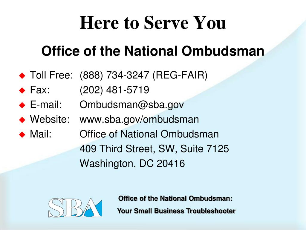Office of the National Ombudsman