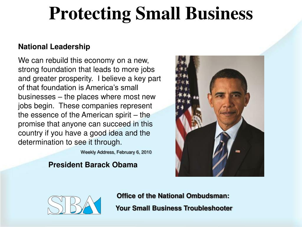 Protecting Small Business
