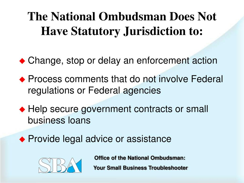Change, stop or delay an enforcement action