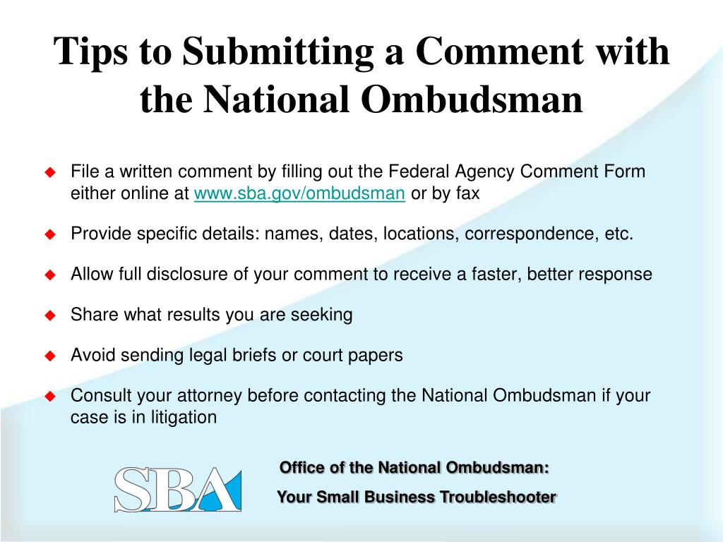 File a written comment by filling out the Federal Agency Comment Form either online at
