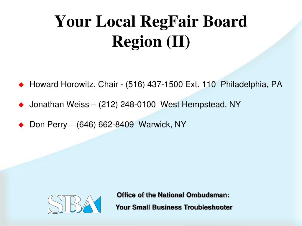 Howard Horowitz, Chair - (516) 437-1500 Ext. 110  Philadelphia, PA