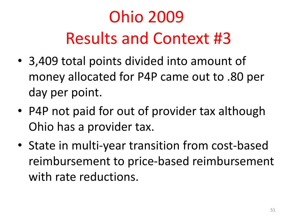 Ohio 2009