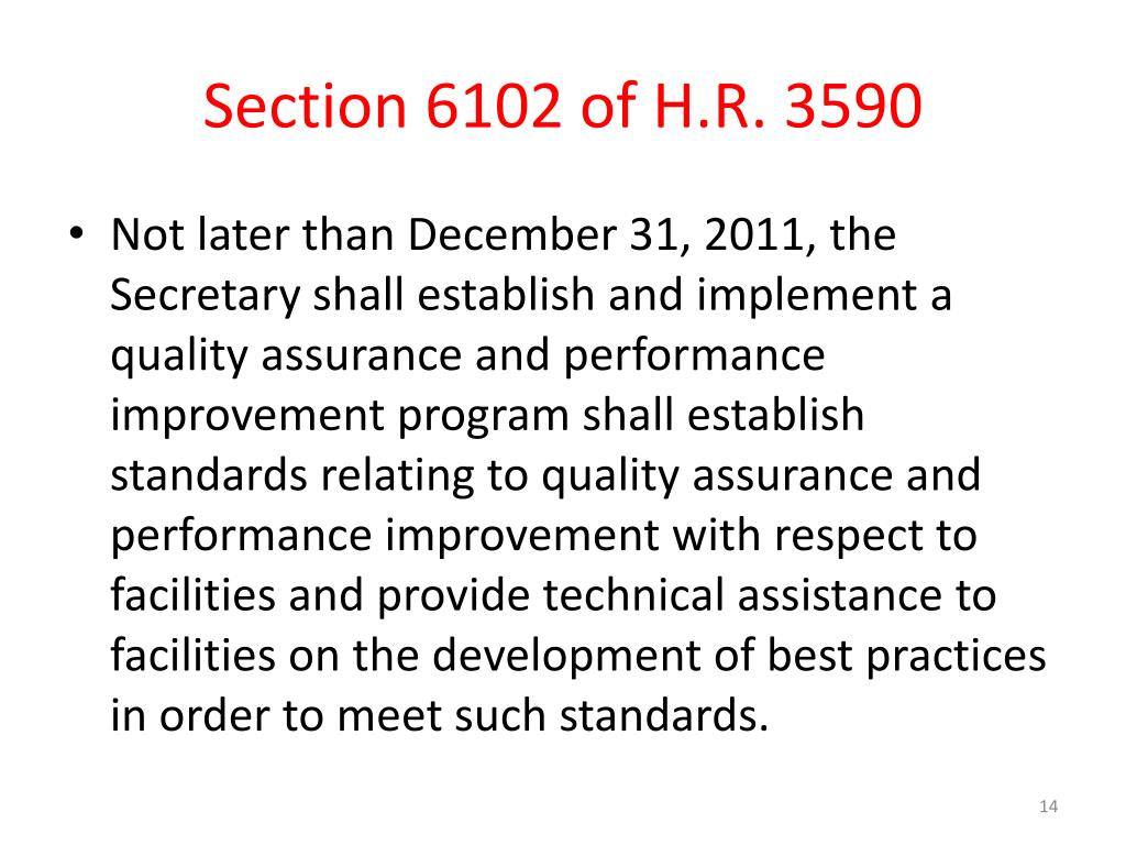Section 6102 of H.R. 3590