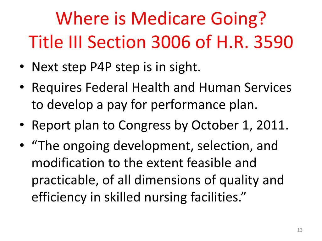 Where is Medicare Going?