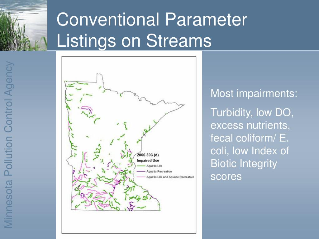 Conventional Parameter Listings on Streams