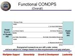 functional conops overall