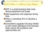 dick s dive n thrive case study