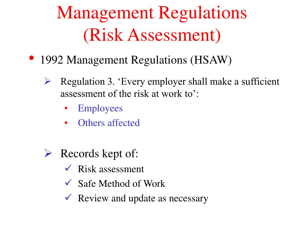 Management Regulations
