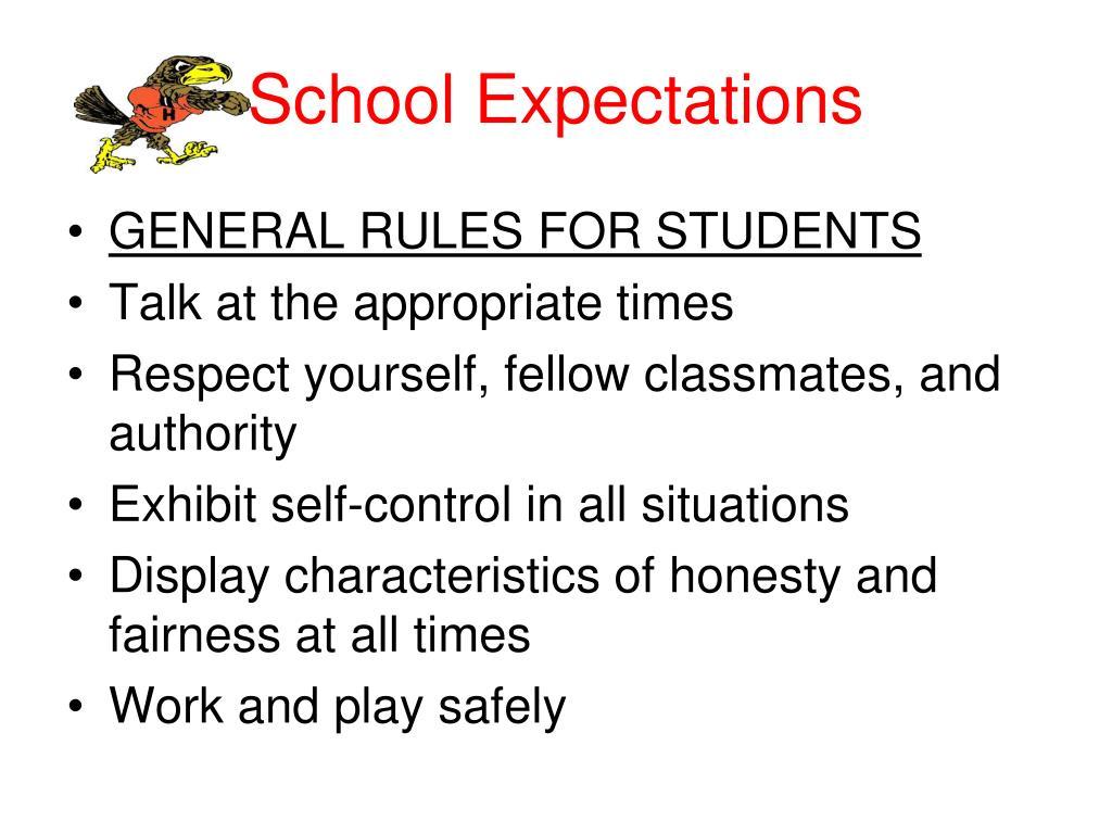 School Expectations