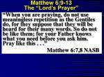 matthew 6 9 13 the lord s prayer2
