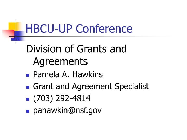 Hbcu up conference2