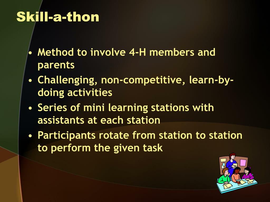 Skill-a-thon