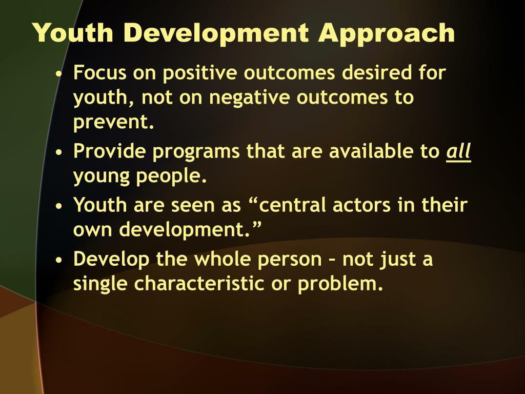 Youth Development Approach