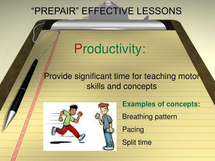 Prepair effective lessons