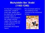 muhyiddin ibn arabi 1165 124020