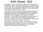 edith sitwell 1923
