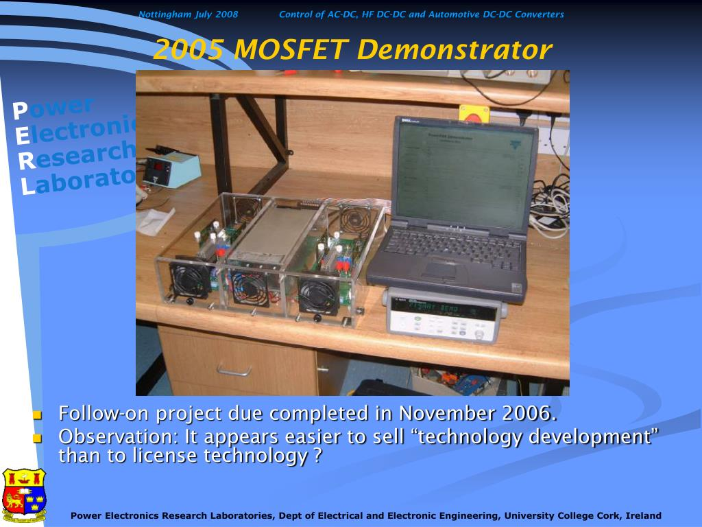 2005 MOSFET Demonstrator