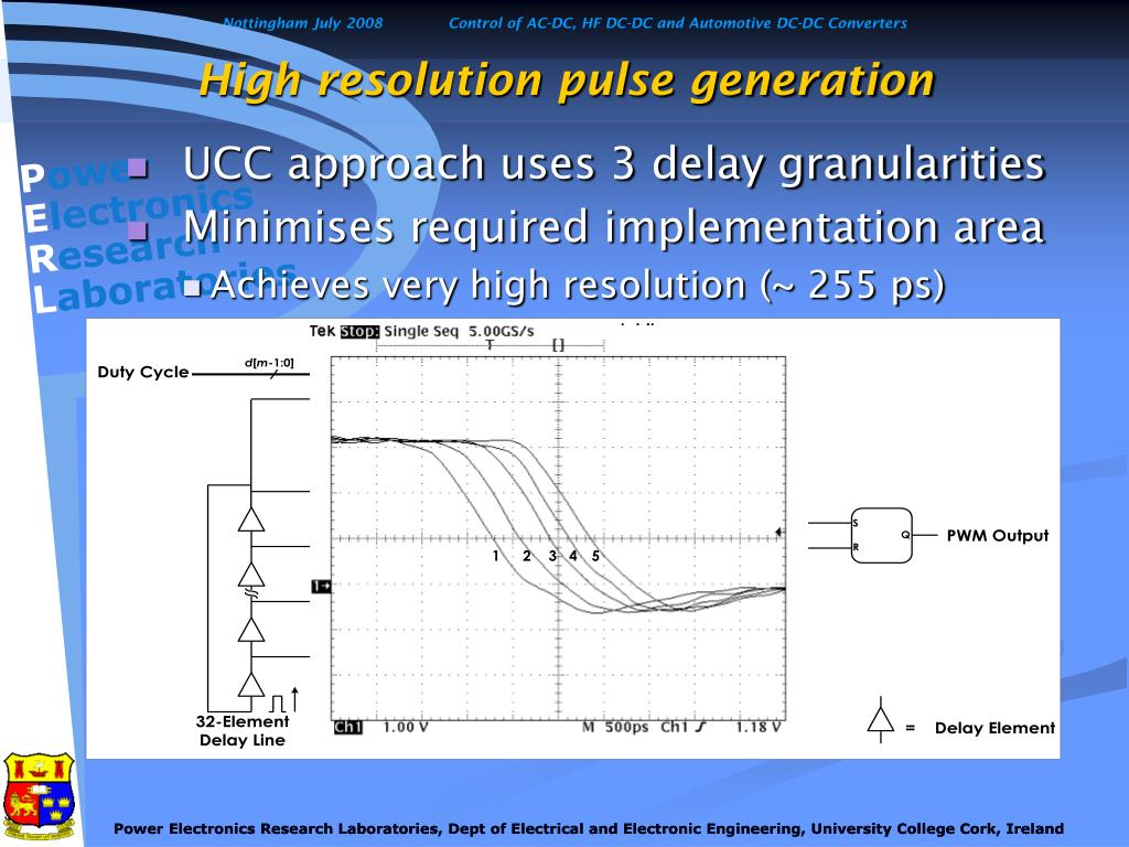 High resolution pulse generation