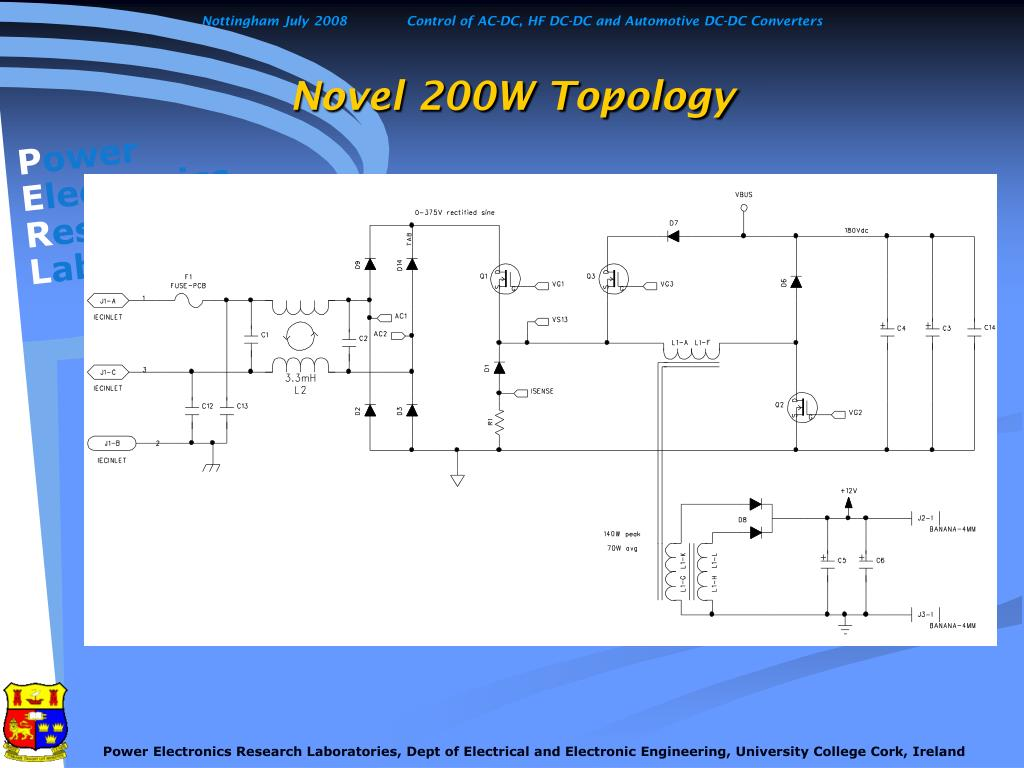 Novel 200W Topology