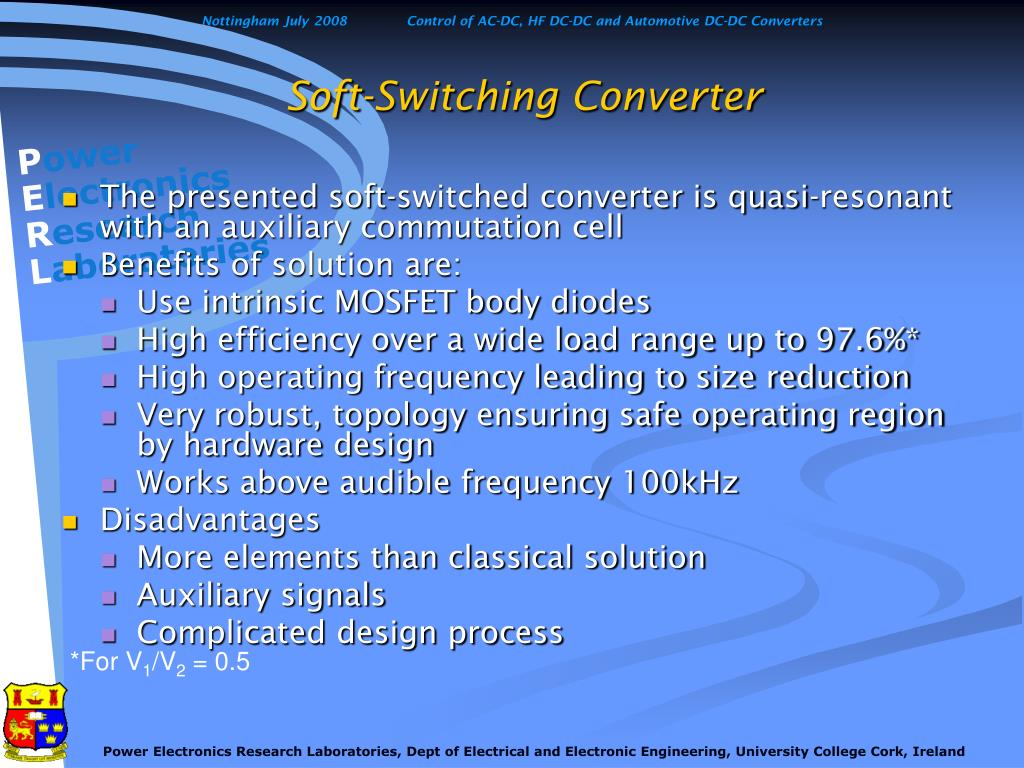 Soft-Switching Converter