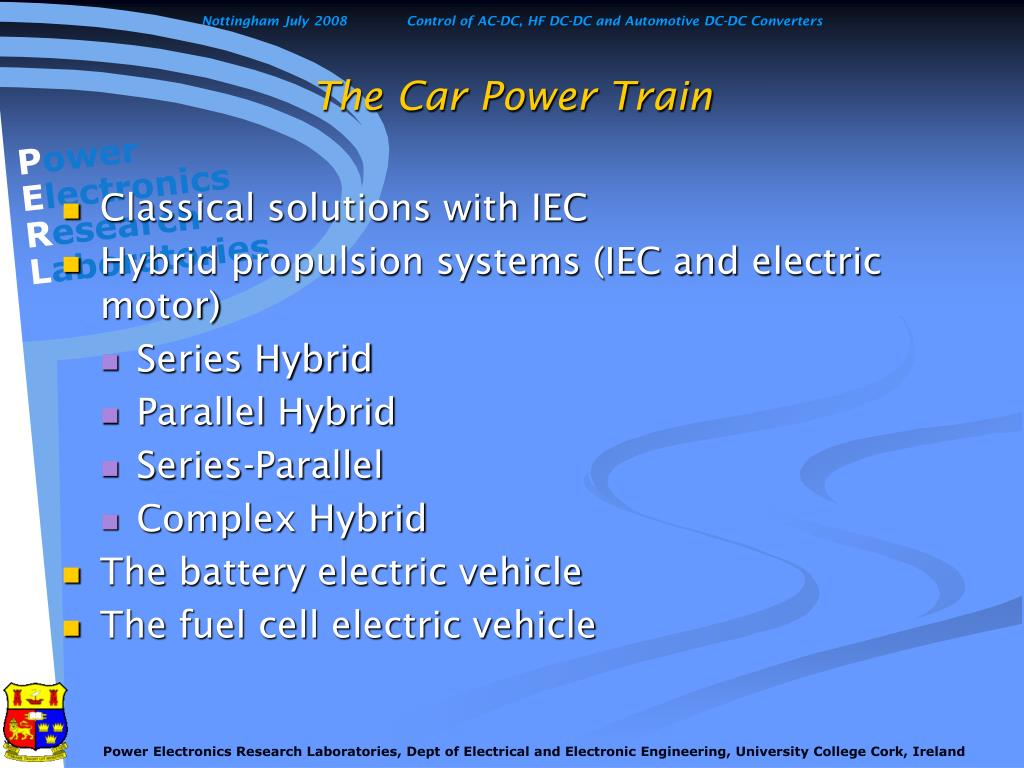 The Car Power Train