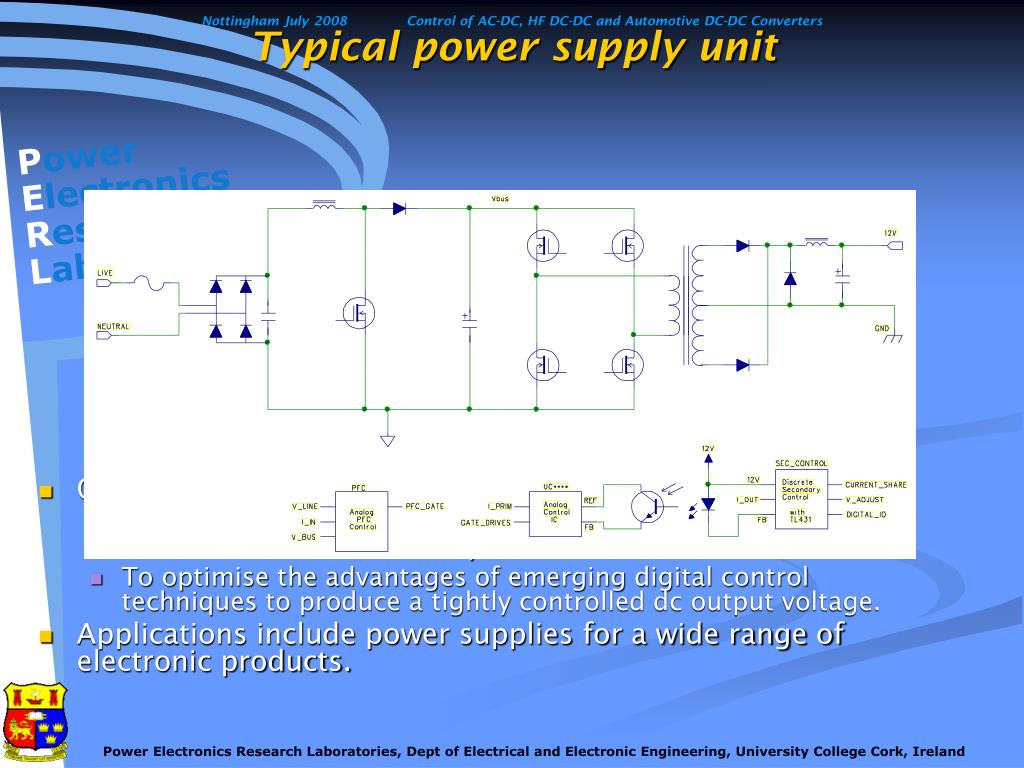 Typical power supply unit