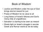 book of wisdom19