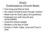 sirach ecclesiasticus church book22