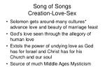 song of songs creation love sex