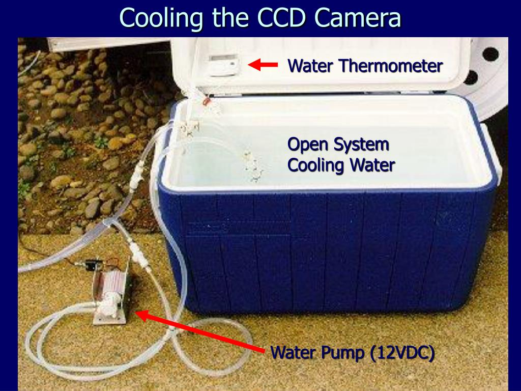 Cooling the CCD Camera