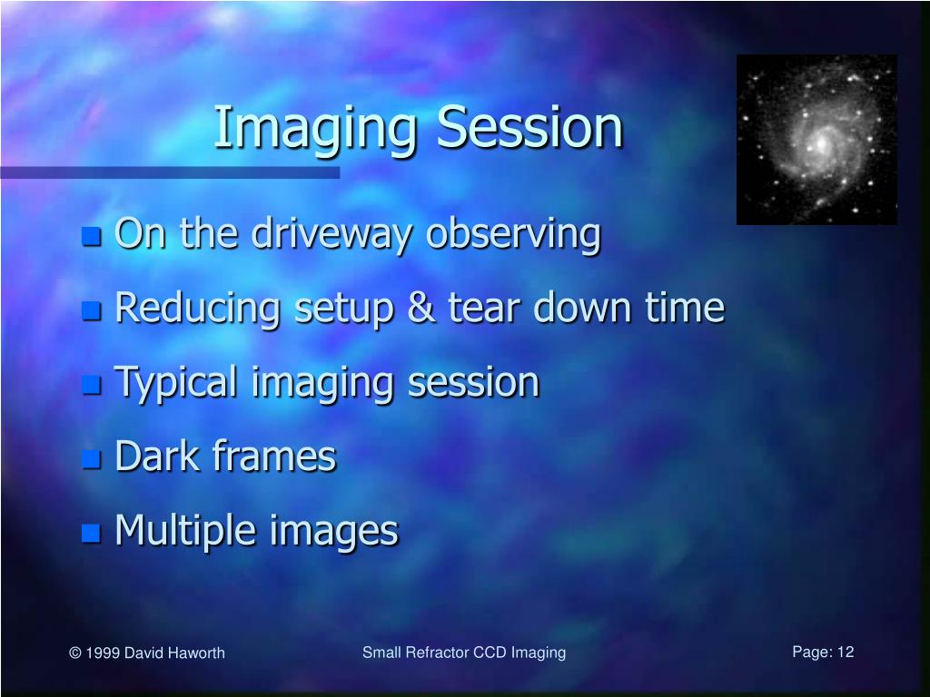 Imaging Session