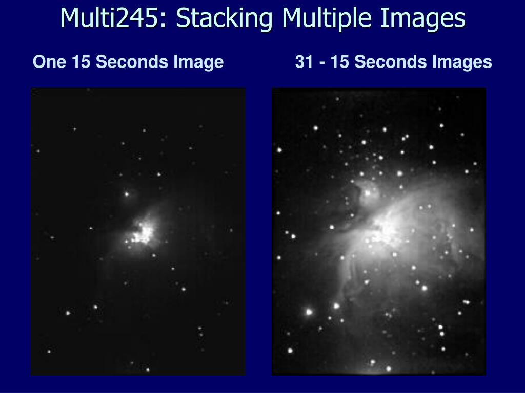 Multi245: Stacking Multiple Images