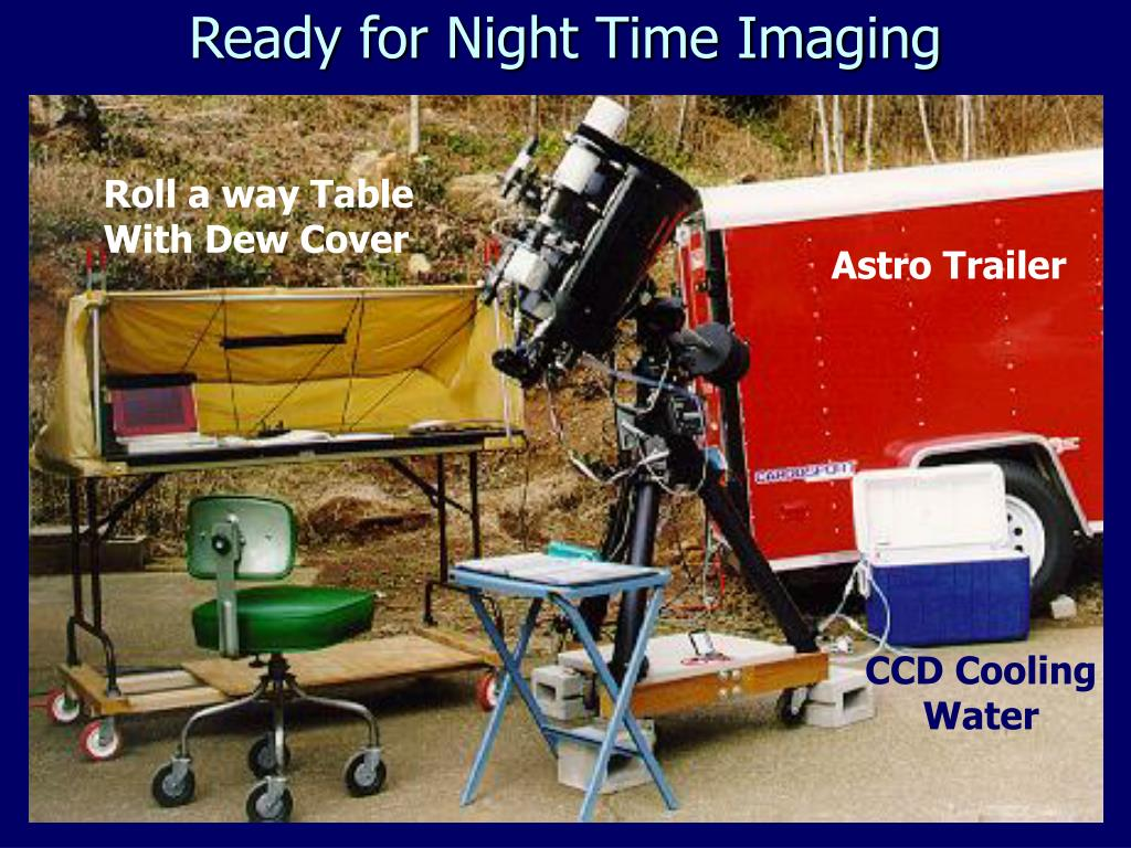 Ready for Night Time Imaging