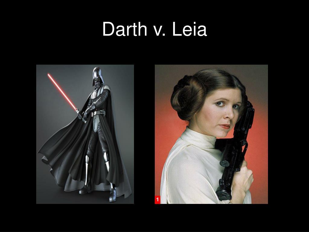 Darth v. Leia