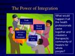 the power of integration