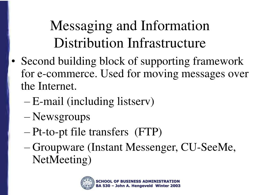 Messaging and Information Distribution Infrastructure