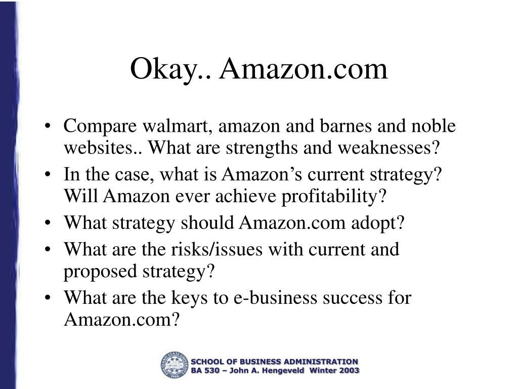 Okay.. Amazon.com