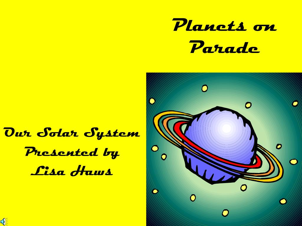 planets on parade l.