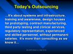 today s outsourcing