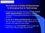 recruitment of sales professionals is changing due to technology4