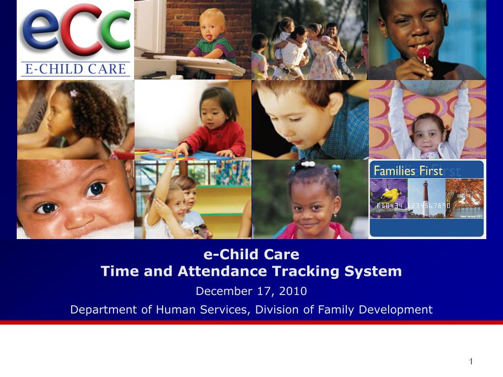 Ppt E Child Care Time And Attendance Tracking System